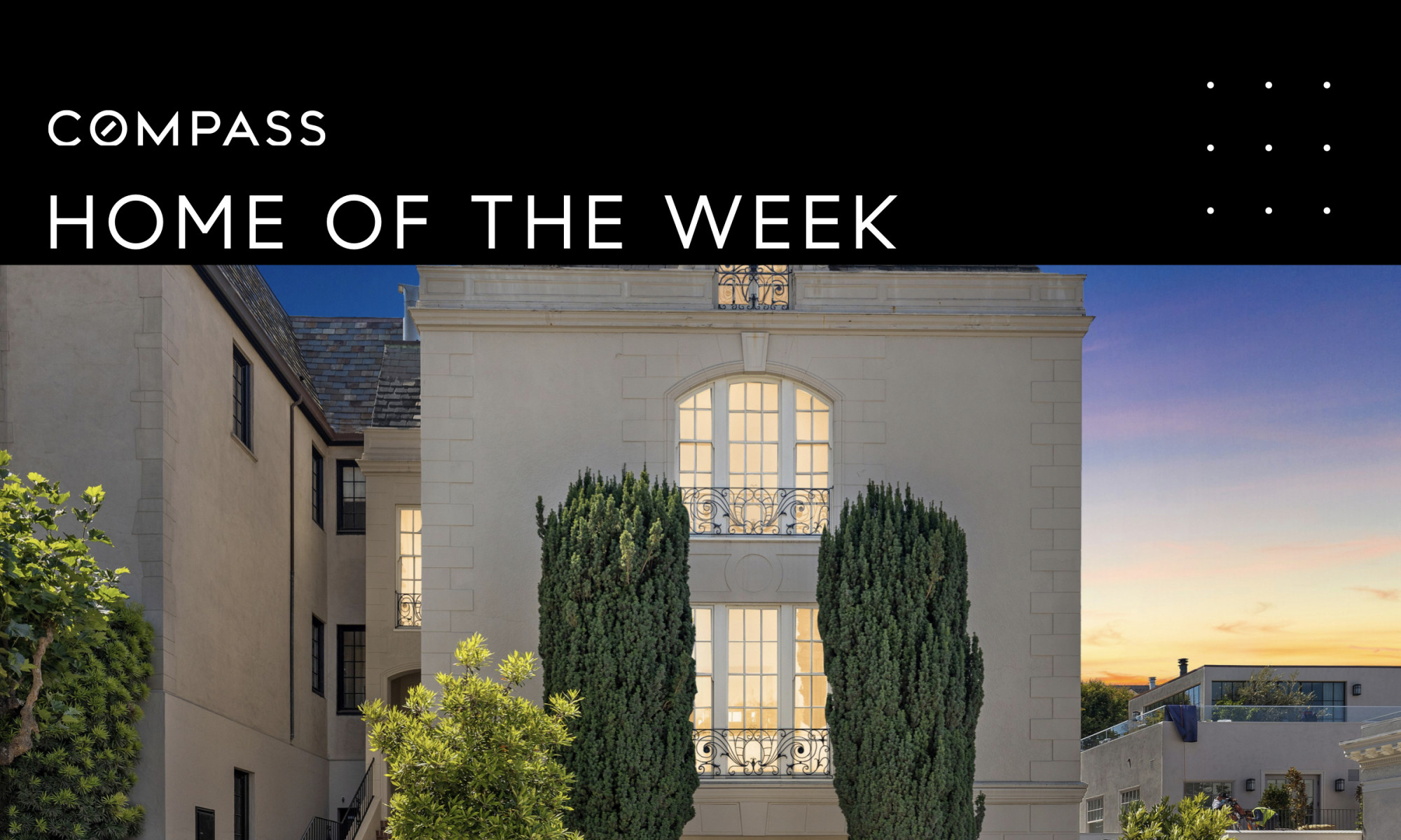 Compass - Regal French Chateau Revival Presidio Heights