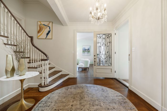 Compass - Regal French Chateau Revival Staircase