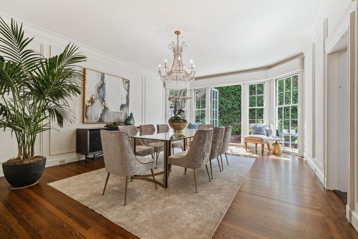Compass - Regal French Chateau Revival Dining Room