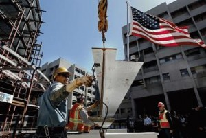 San Francisco General Hospital celebrates its Topping Off