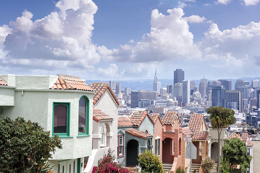San Francisco Skyline - - Pacific Union.