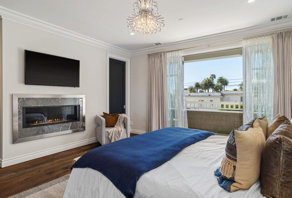Rare retreat in prime Santa Monica view from bedroom