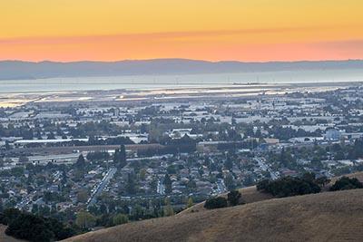 Silicon Valley sunrise