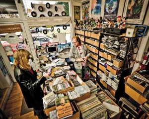 Mill Valley Records, Part of What Makes Mill Valley One of the 20 Best Small Towns