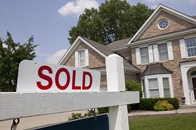 Home sold sign