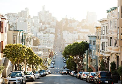 San Francisco's Telegraph Hill neighborhood