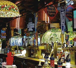 Tiffany lamps from SF pub head to auction