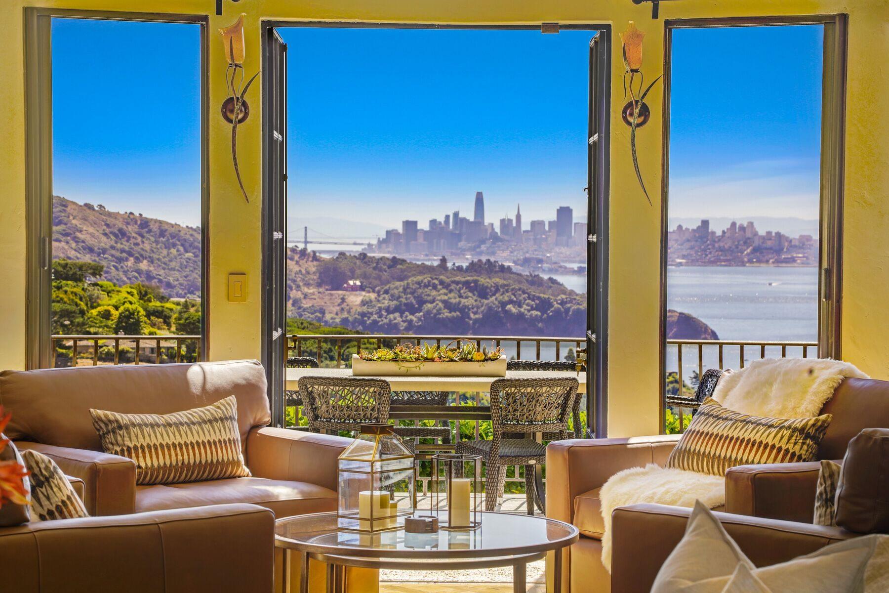 window view of San Francisco