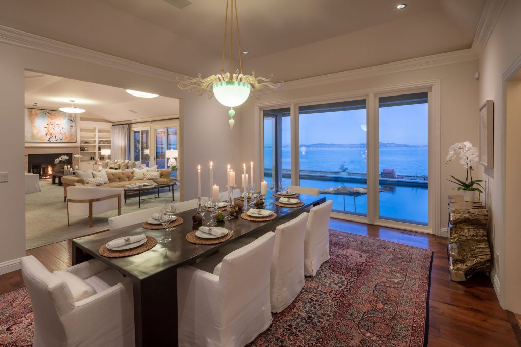 Showing Bayfront home dining room