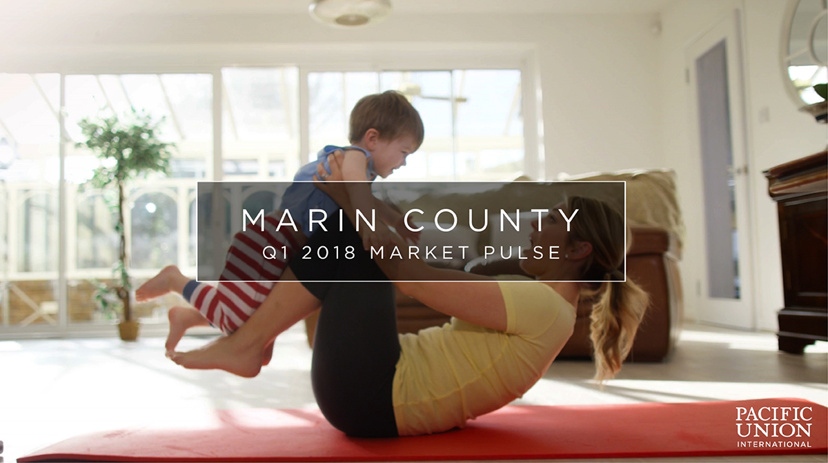 Mom and child on yoga mat - Pacific Union