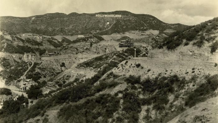 View of Hollywood in 1926