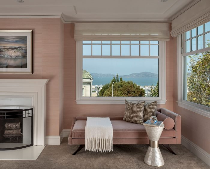 Fully redone Pacific Heights showpiece with stunning Bay views