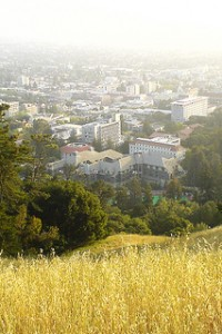View from the Berkeley Hills into Berkeley