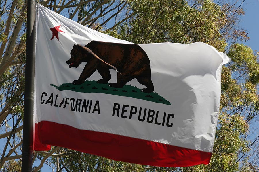 California flag - Pacific Union