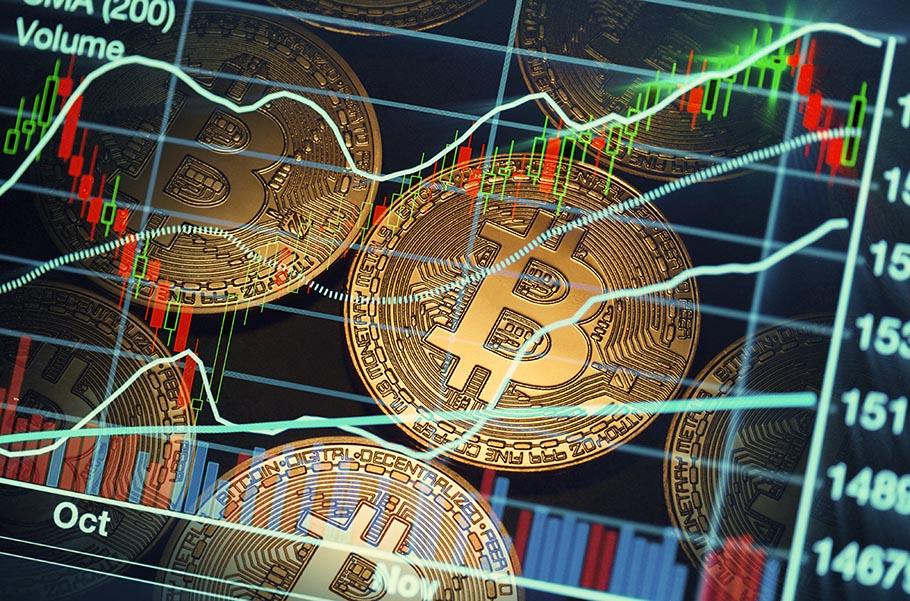 Bitcoin graphic - Pacific Union