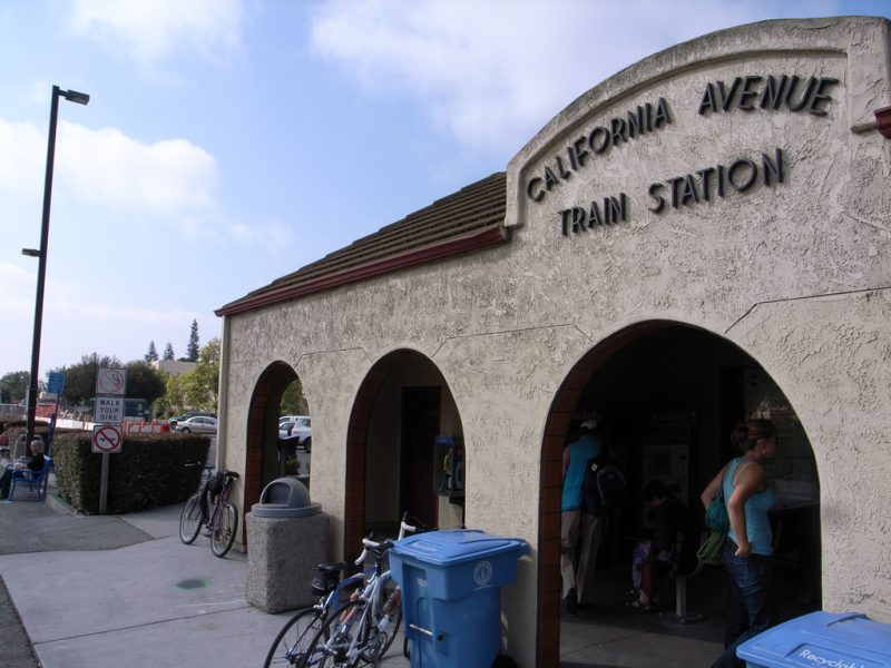Palo Alto Train Station