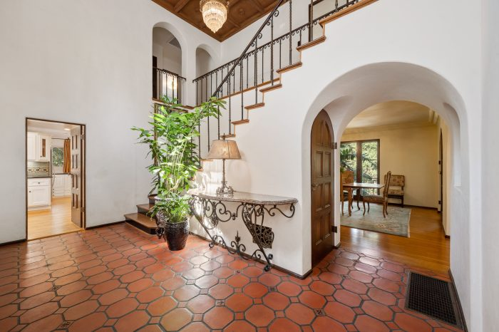 Foyer in Spanish home