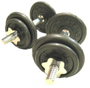 barbell dumbells