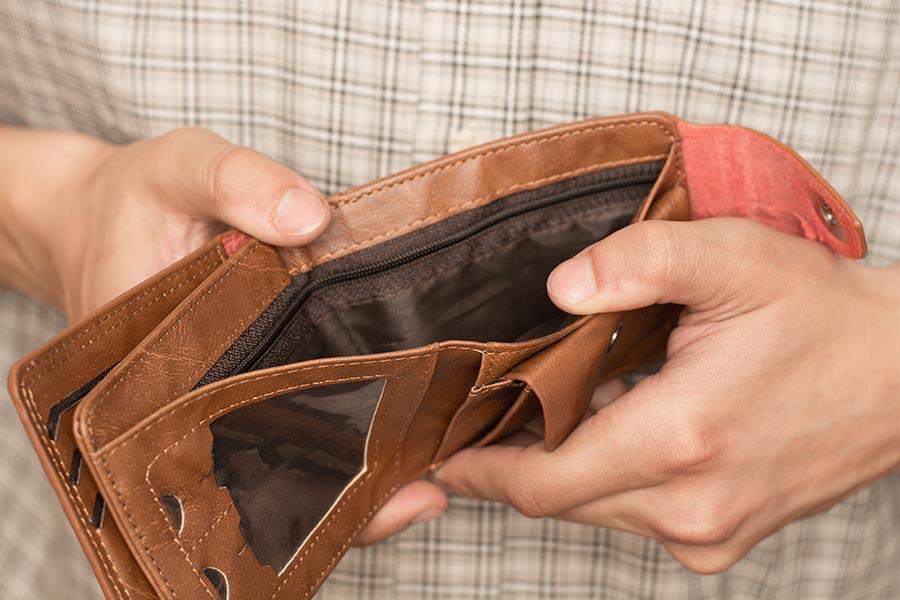 Empty Wallet - - Pacific Union