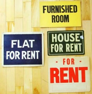 for-rent signs