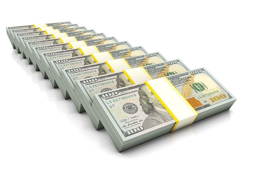 Bundles of cash - Pacific Union