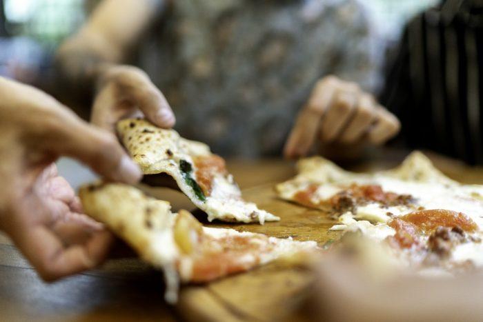 Delicious LA pizza.