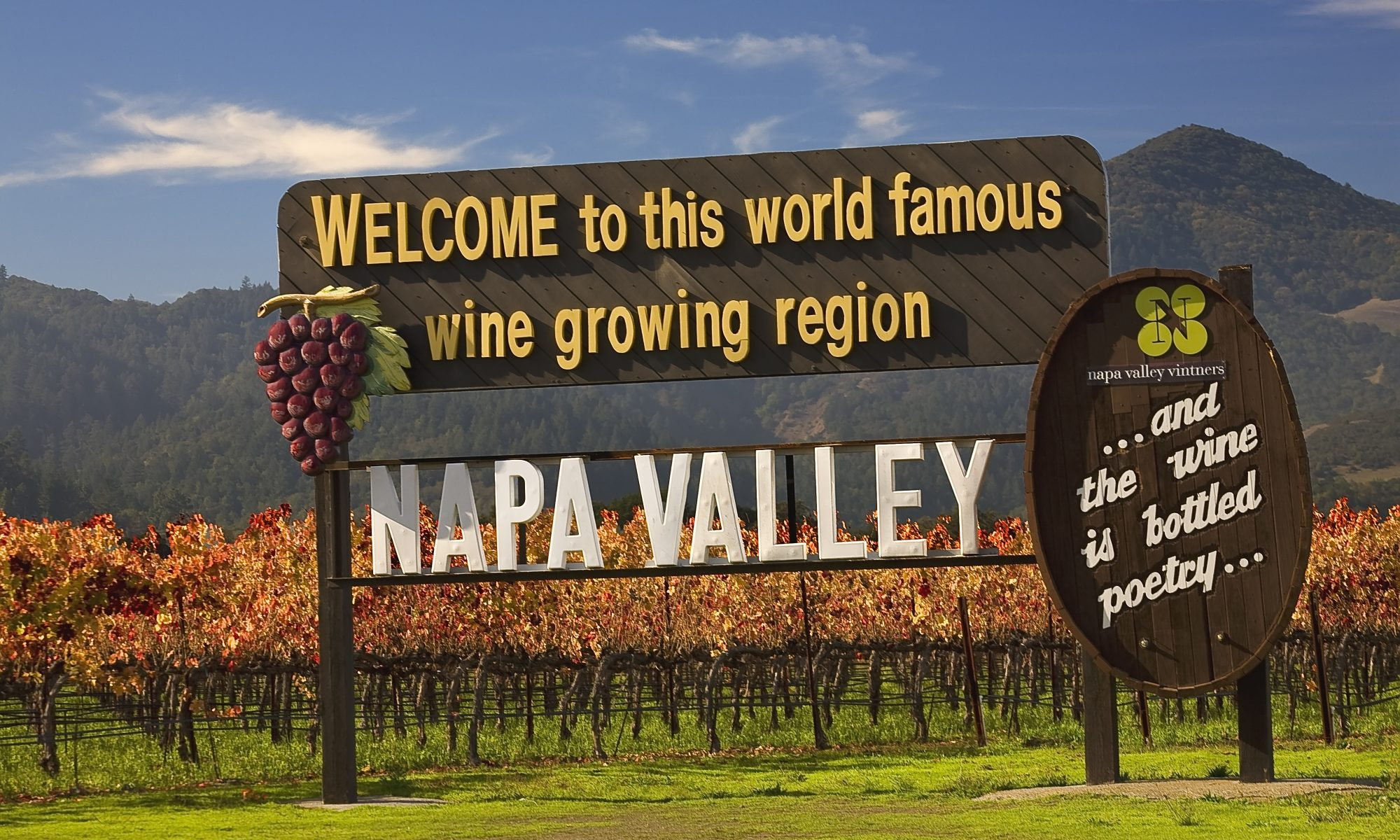 Life in Napa Valley is quiet. Except in late May.