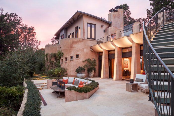 View of Bill Graham villa.
