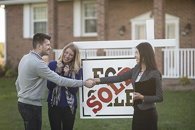 Millennials buying a home