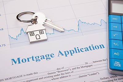 A mortgage application