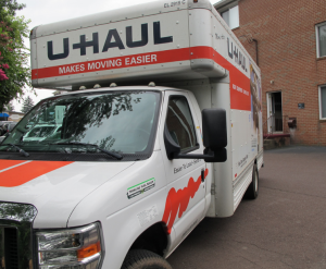 U-Haul moving truck