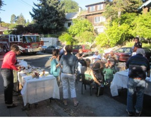 National Night Out on Berkeley's Shattuck Avenue.