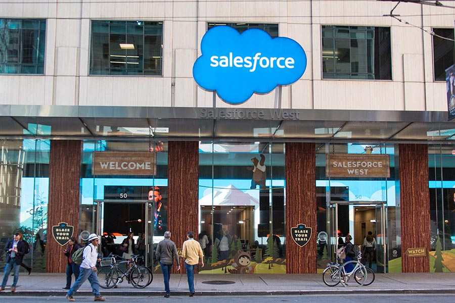 salesforce business sign -- Pacific Union