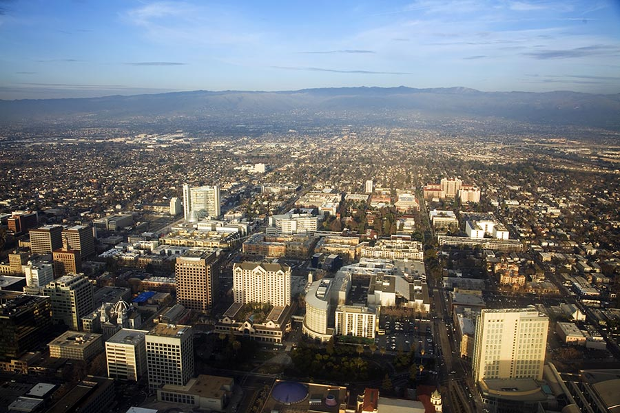 San Jose Skyline - Pacific Union.