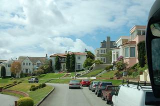 Homes In San Franciscou0027s Sea Cliff Neighborhood.
