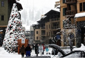 Christmas in Squaw Valley