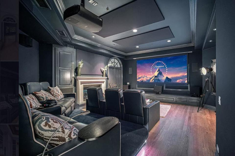 another view of home theater