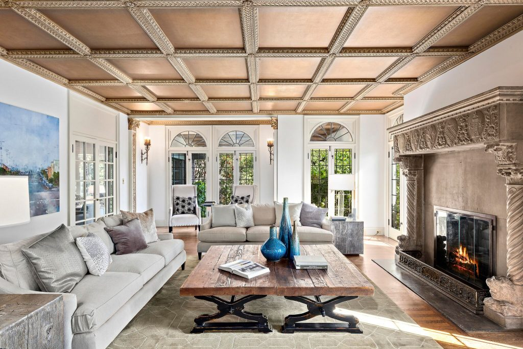 Home of the Week: Historic Piedmont estate living room